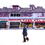 Olivier Morel, shanghai, feutres sur papier 1001 nuits