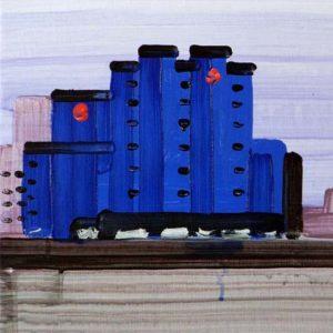 Olivier Morel, Japon, paysages, peinture acrylique