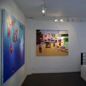 Olivier Morel, exposition nouveau monde, galerie mondapart