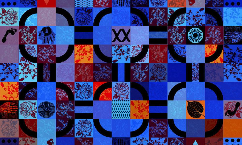 Olivier Morel, labyrinthe, mobilier national, tapis, manufacture des gobelins, savonnerie