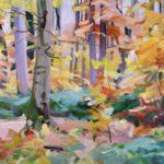 Olivier Morel, art contemporain, artiste français, forêt, forêts