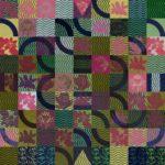 Olivier Morel, labyrinthe, lotus, linogravure, art contemporain, 1001 nuits