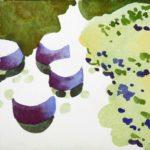 Olivier Morel, Jardin japonais, Japon, dessin, aquarelle, art contemporain