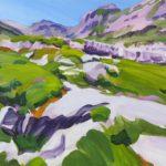 Olivier Morel montagne sixt lapiaz peinture acrylique sales